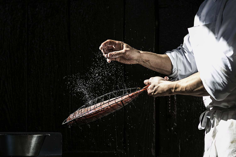 Restaurant grill Asador Portuetxe